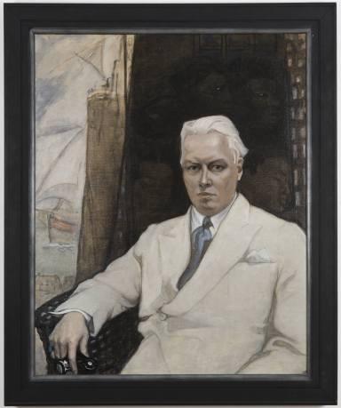 Carl Van Vechten by Romaine Brooks, 1936