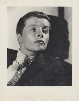 Katherine Hepburn by Ernest Bachrach, 1935